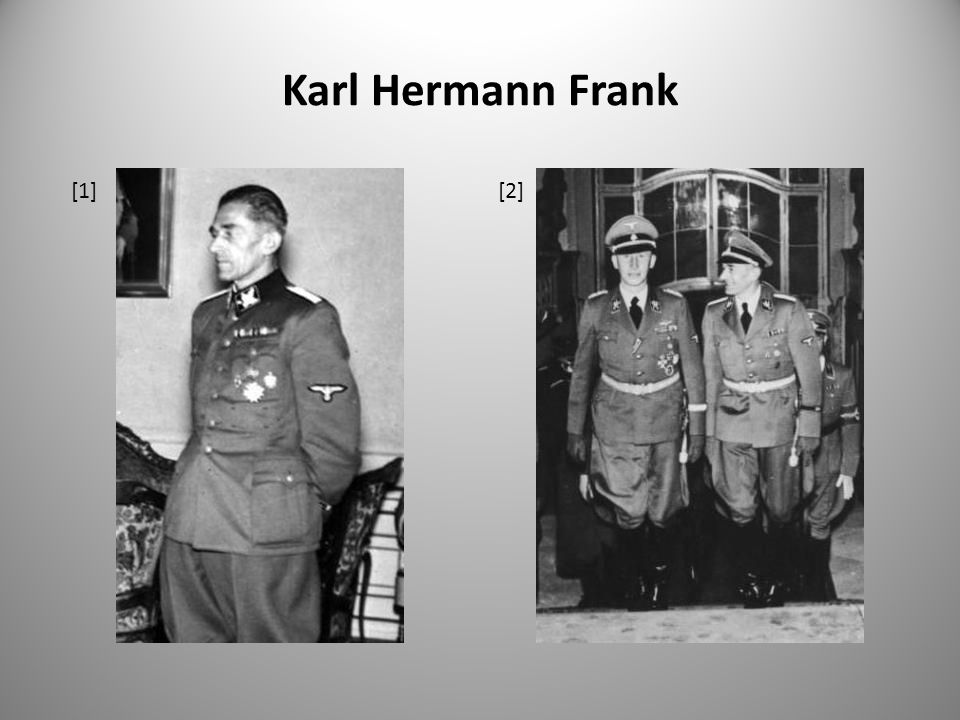 Karl Hermann Frank [1] [2]